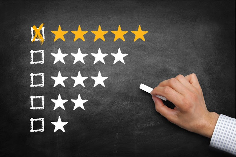 How To Turn Online Reviews Into A Competitive Advantage
