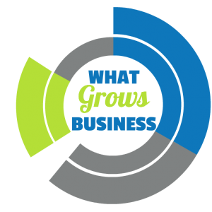 what grows business logo
